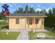 Log Cabin Slough 6m x 4.5m 003