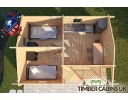 Log Cabin Slough 6m x 4.5m 004