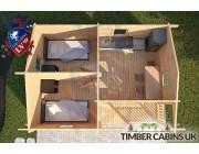 Log Cabin Slough 6m x 4.5m 004