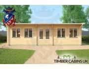 Log Cabin Solihull 8.5m x 4m 004