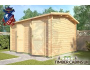 Log Cabin South Bedfordshire 3m x 4m 002