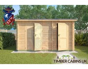 Log Cabin South Bedfordshire 3m x 4m 003