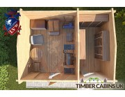 Log Cabin South Bedfordshire 3m x 4m 004