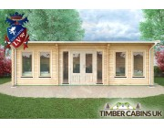 Log Cabin South Gloucestershire 8m x 4m 004