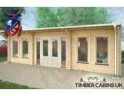 Log Cabin South Gloucestershire 8m x 4m 003