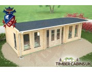 Log Cabin South Gloucestershire 8m x 4m 005