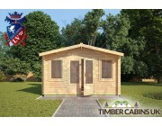Log Cabin South Tyneside 4m x 3m 003