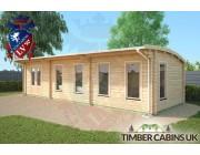 Log Cabin Southampton 10m x 3.5m 003