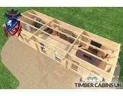 Log Cabin Southampton 10m x 3.5m 005