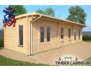 Log Cabin Southampton 10m x 3.5m 002