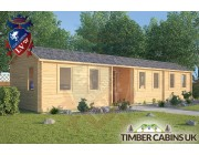 Log Cabin St Anne 13m x 3m 001