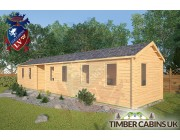 Log Cabin St Anne 13m x 3m 002