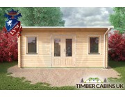 Log Cabin Stockport 5.5m x 3.5m 004