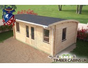Log Cabin Stockport 5.5m x 3.5m 003