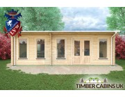 Log Cabin Stoke-on-Trent 7.5m x 3.5m 004