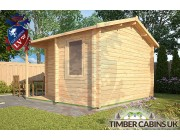 Log Cabin Stratford-on-Avon 3.6m x 3.6m 002