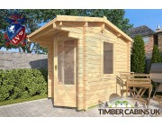 Log Cabin Stroud 1.75m x 2.35m 002