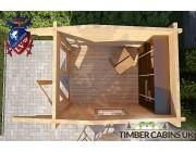 Log Cabin Stroud 1.75m x 2.35m 004