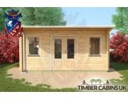 Log Cabin Sunderland 5m x 4m 005