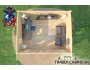 Log Cabin Sunderland 5m x 4m 007