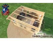 Log Cabin Sunderland 5m x 4m 006