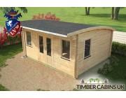 Log Cabin Sunderland 5m x 4m 004