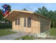 Log Cabin Swanland 5m x 5m 002
