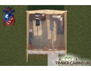 Log Cabin Swanland 5m x 5m 004