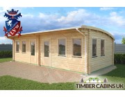 Log Cabin Swansea 8.5m x 4m 002
