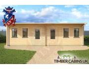Log Cabin Swansea 8.5m x 4m 003