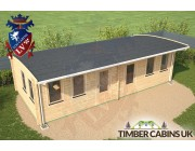 Log Cabin Swansea 8.5m x 4m 004