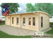 Log Cabin Tameside 9.5m x 3.5m 002