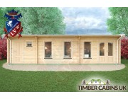 Log Cabin Tameside 9.5m x 3.5m 004