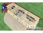 Log Cabin Tameside 9.5m x 3.5m 006