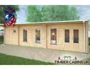 Log Cabin Tameside 9.5m x 3.5m 003