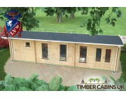 Log Cabin Tameside 9.5m x 3.5m 005