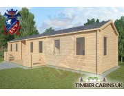 Log Cabin The Lancashire 13m x 3m 002