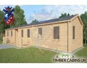 Log Cabin The Lancashire 13m x 3m 002