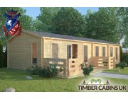 Log Cabin The London 11.5m x 4.5m 001