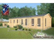 Log Cabin The London 11.5m x 4.5m 002