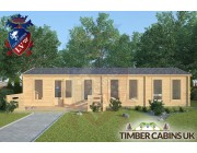 Log Cabin The London 11.5m x 4.5m 003