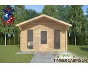 Log Cabin Thornton-Cleveleys 4m x 4m 003