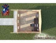 Log Cabin Thornton-Cleveleys 4m x 4m 004