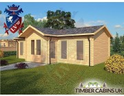 Log Cabin Thornton 8.5m x 4.5m 002