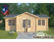 Log Cabin Up Holland 7m x 5m 003