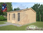 Log Cabin Waddington 4.5m x 4.5m 002