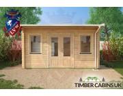 Log Cabin Wakefield 4.5m x 2.5m 004
