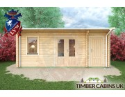 Log Cabin Walsall 6m x 3.5m 003