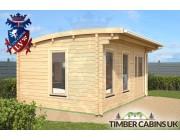 Log Cabin Warrington 5m x 3.5m 001