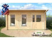 Log Cabin Warrington 5m x 3.5m 003